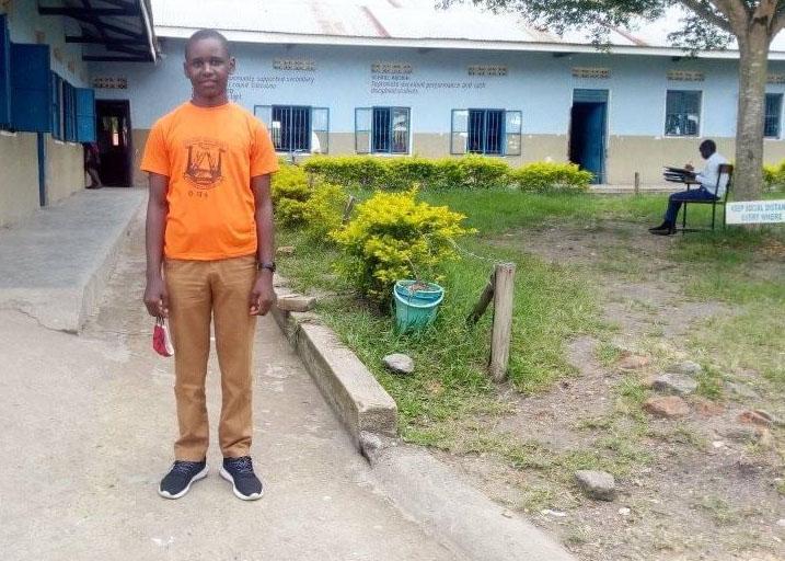 ronald at secondary school
