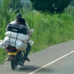Ugandan boda transport