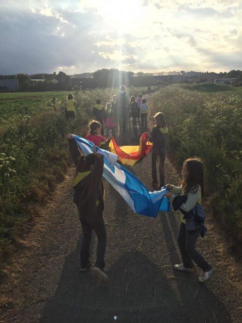 power for education sponsored walk