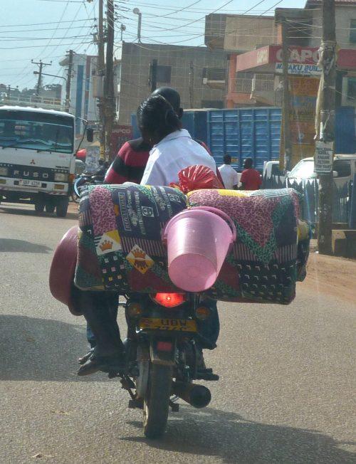 Ugandan boda boda motorcycle