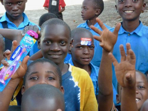 a toothbrush for every pupil