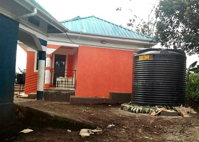 water harvesting for administration block