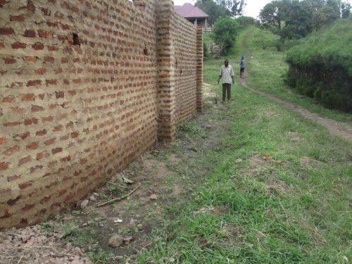 uphill school wall