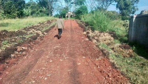 upgraded track to uphill junior school
