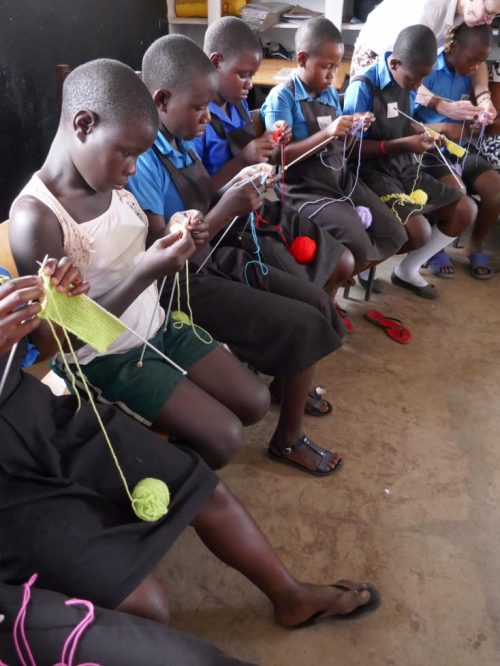 knitting lessons at uphill
