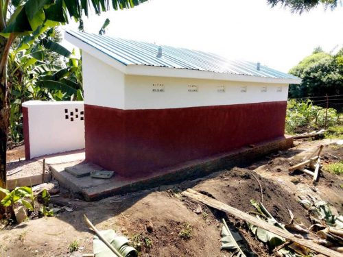 latrine block for girls