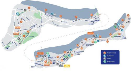 edinburgh marathon route 2019