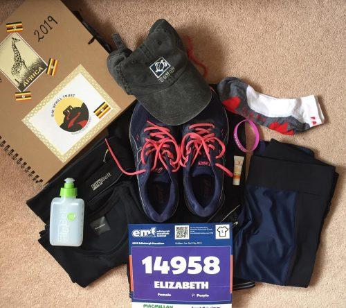 marathon running kit