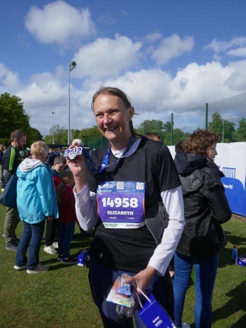 marathon medal achieved