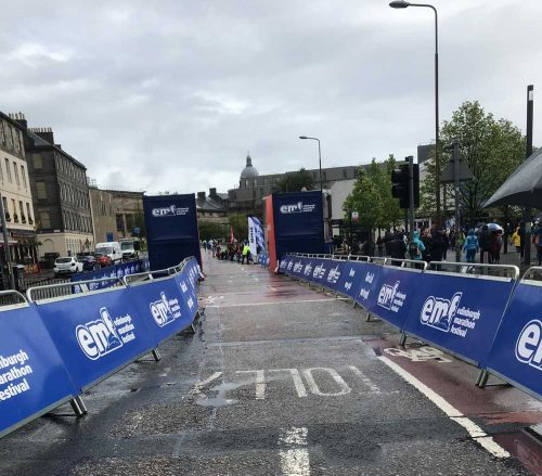 edinburgh marathon start