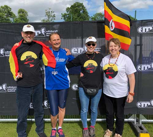 uphill edinburgh marathon success
