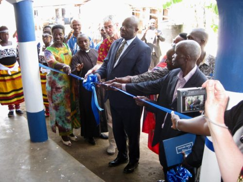 official opening of new classroom blocks