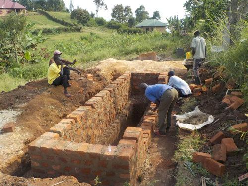 1st anniversary latrine build