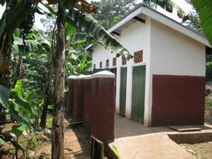 latrine block for girls