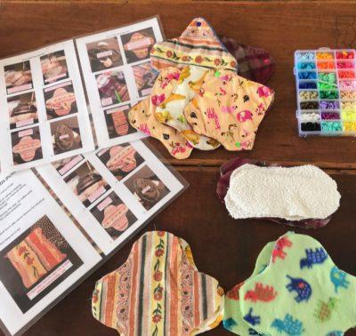 how to make sanitary pads