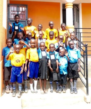 supported pupils at uphill