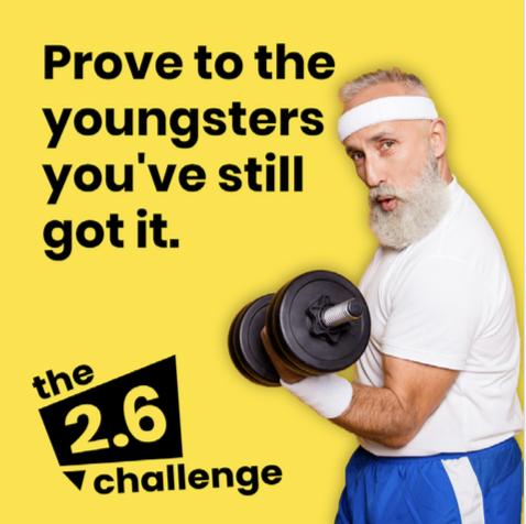 Uphill 2.6 challenge