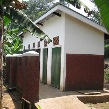 Uphill latrines