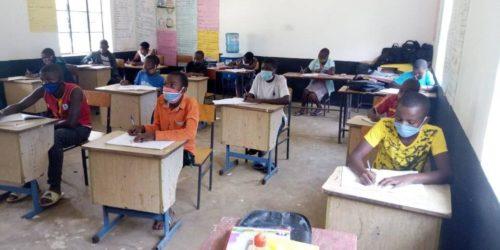 COVID safe classroom