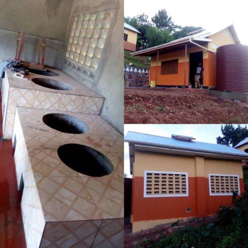 School kitchen in Uganda