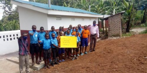 Thank you Meeting Needs for funding the Uphill latrine