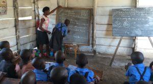 shared wooden classroom 2015