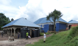 primary 1 and 3 block with water tanks 2019