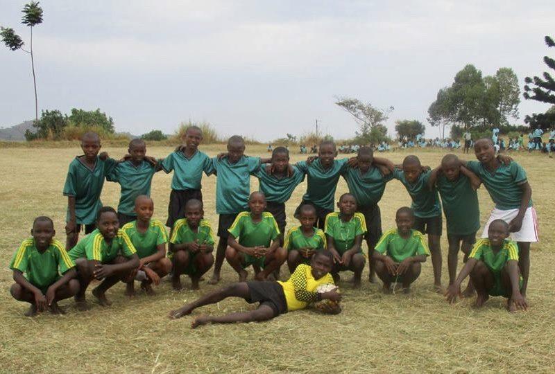 Uphill Junior School football team