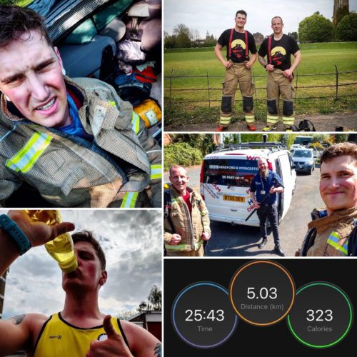 uphill firefighter challenge day 25