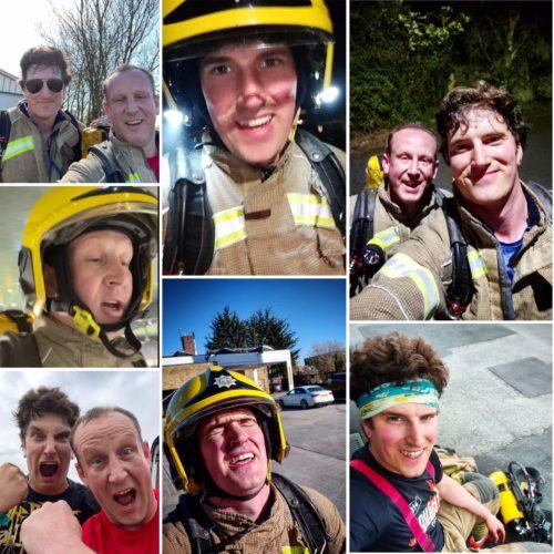 uphill firefighter challenge begins