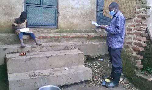 lessons in lockdown in rural uganda